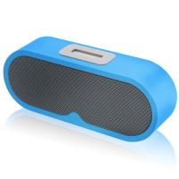 Outdoor and home audio wireless bluetooth speaker with FM radio