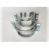 China Type B Heavy Duty Clamps Galvanized Steel Coupling Grip Collar Long Life for sale
