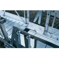 Durable and Safety Steel Rope Suspended Platform For Building Facade / Glass Cleaning