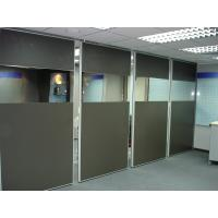 Quality Office Movable Partition Walls Accordion Commercial Aluminium Profile for sale