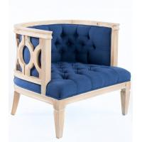 Wholesale French style craved linen fabric wooden solid event chair for weddings parties executive occasional design and from china suppliers