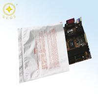 Wholesale Large size ziplock or top open antistatic silver white big size aluminum foil bags for caution product from china suppliers