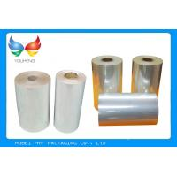 Wholesale High Shrinkage 45 MICRON Transparency PVC Shrink Film For Label Printing from china suppliers