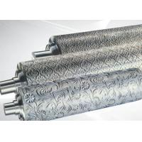 PP ABS Embossing Roller Surface Hardness HRC55~58 , PVC Mirror Roller