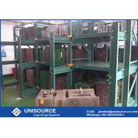 Wholesale 75% Extension Sliding Mold Storage Racks Steel Q235 with Travelling Crane Arm from china suppliers