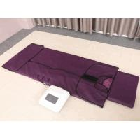 China Lymph Drainage Far Infrared Sauna Blanket With 3 Zone Digital Controller for sale