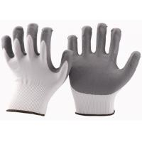 15 Gauge Nitrile Palm Coated Work Gloves 7 / 8 / 9 Inch Apply To Logistics for sale