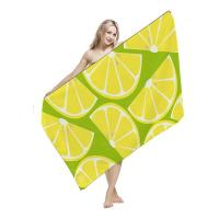 China Knitted Sublimated Beach Towels Dense Terrt Strong Water Absorbability for sale