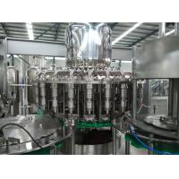 Wholesale AC220V / AC380V Beverage Bottling Equipment For Screw Cap Round Bottle from china suppliers