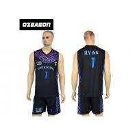 Wholesale High Quality Sublimation Printing Reversible Training Basketball Uniform For Boys from china suppliers