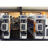 China Corrugated Box Feeder Flexo Printer Slotter Machine / Small Carton Box Making Machine for sale