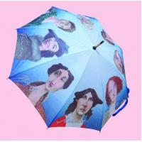 """Wholesale 23""""*8k straight hot transfer umbrella printing from china suppliers"""
