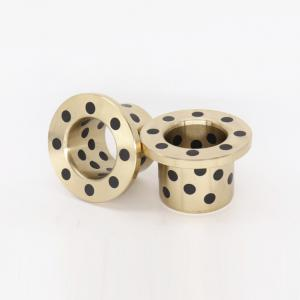 Wholesale C86300 SAE430B Manganese Bronze Flange Bushings Solid Lubricant Centrifugal Casting from china suppliers