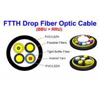 Wholesale Kevlar MM SM Fiber Optic Cable Indoor Outdoor 7.0 Mm SOS PDLC ODVA DLC from china suppliers