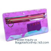Wholesale Amazon Top Seller Travel Organizer Transparent Foldable Pouch Clear Eva Makeup Travel Bag, cosmetic pouch eva clear poly from china suppliers