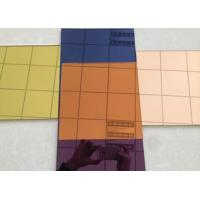 Environmentally Friendly Silver Tinted Glass Easy Installation / Cleaning for sale
