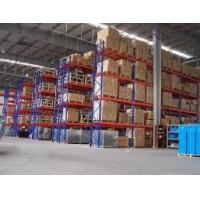 Wholesale Space Saving Heavy Duty Storage Racks , Cold Roll Steel Racking System Quick Access from china suppliers