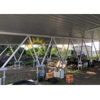 Wholesale Carport Module Mounting Structure , Aluminium Solar Structure Easy Installation from china suppliers
