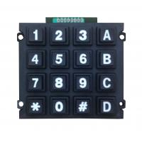 China Rugged cheap plastic numeric keypad supply with 16 keys, high quality on sale