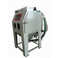 Wholesale Common Pressure Sand Blast Cabinet , Grit Blasting Cabinet Box Type For Castings from china suppliers
