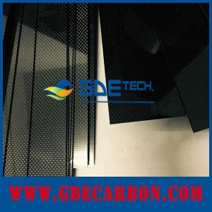 China 6mm carbon fiber sheet on sale
