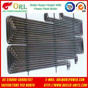 Quality 80MW Petroleum Industry CFB Boiler Superheater OEM TUV Superheater In Boiler for sale