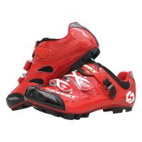 China Mountain Bike Flat Pedal Shoes / Breathable Wear Resistant Spd Pedal Shoes for sale