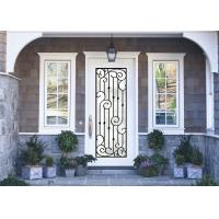 Antiseptic Custom Wrought Iron Doors With Glass Inspiration Craftsmanship for sale