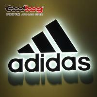 Wholesale Custom 3D Shop front Sign Chrome Backlit light LED shop Signs from china suppliers