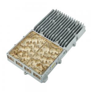 Buy cheap Tolerance ± 0.01mm Aluminum Die Casting Telecome Enclosure Size 45*20*8CM from wholesalers