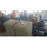 Semi Automatic Roll Forming Equipment 350 H Steel Pipe Bending Machine Chain Drive