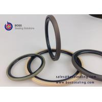 Wholesale GSF BSF Bronze PTFE rubber o-ring hydraulic compact piston seals double acting glyd rings brown green color from china suppliers
