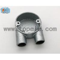 Wholesale BS4568 Gi Conduits And Accessories Two Way U Junction Box Casting Technics from china suppliers
