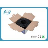 Wholesale 24AWG 26AWG BC Cat5e Computer Network Cable FTP Outdoor Waterproof HDPE Insulation from china suppliers