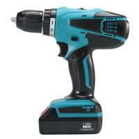 China Lightweight Workforce Cordless Drill , Heavy Duty Shelving Rechargeable Hand Drill for sale
