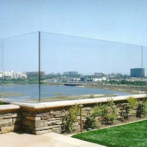China Aluminum channel frameless glass railing aluminium u channel for glass railing on sale