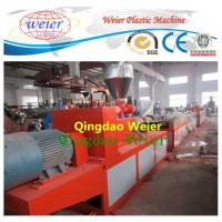 Best Wood Plastic Composite / Wpc Profile Extrusion Line Single Screw Extruder wholesale