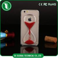 China Gold Cute Crystal iPhone Hard Cell Phone Cases with Hourglass Design on sale