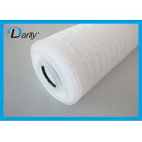 Best PP Micron Filter Cartridge Pleated Acid Water Cartridge Filter For Pharmaceutics wholesale