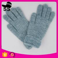 Wholesale 95%Acrylic 5%Spandex 10*21.5cm 52g 2017 New yarn for work man winter knitting gloves from china suppliers
