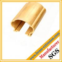 Wholesale Extruded brass sections of handrails from china suppliers