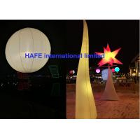 Wholesale AC DC LED 640w - 800w Inflatable Lighting Decoration Moon Balloon Lighting from china suppliers