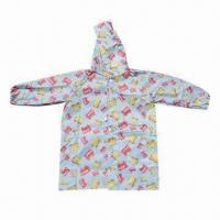 China Children's fashion rain coat (printed rain coat), environment-friendly on sale