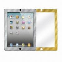 Wholesale Screen Protector for iPad, with Multicolor Carbon Fiber Frame from china suppliers