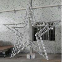 Wholesale Party Bolt Circular Truss Aluminum For Concert / Cabaret Star Shaped Five Corners from china suppliers