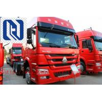 Wholesale Low Fuel Consumption SINOTRUK HOWO Tractor Trailer Truck 290HP Single Bed 10 tires 6x4 from china suppliers