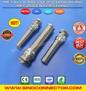 Best Kabelverschraubung / Kabelverschraubungen aus Metall (Messing) mit Zugentlastung wholesale