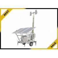 Wholesale Manual Solar Portable Generator Light Tower Class H Alternator Insulation Ip24 from china suppliers
