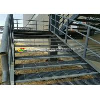 Wholesale Water / Power Plant Steel Stair Treads Grating Hot Dipped Galvanized from china suppliers