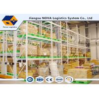 Wholesale Hospital Heavy Duty Mobile Racking System , Teardrop Pallet Racking Systems For Office from china suppliers